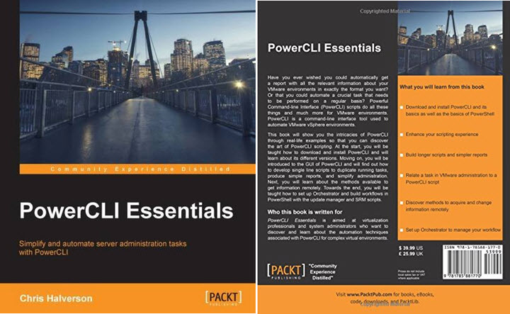 PowerCLI Essentials by Chris Halverson