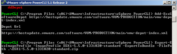 PowerCLI1 Installing and upgrading to ESXi 5.5   Best practices and tips