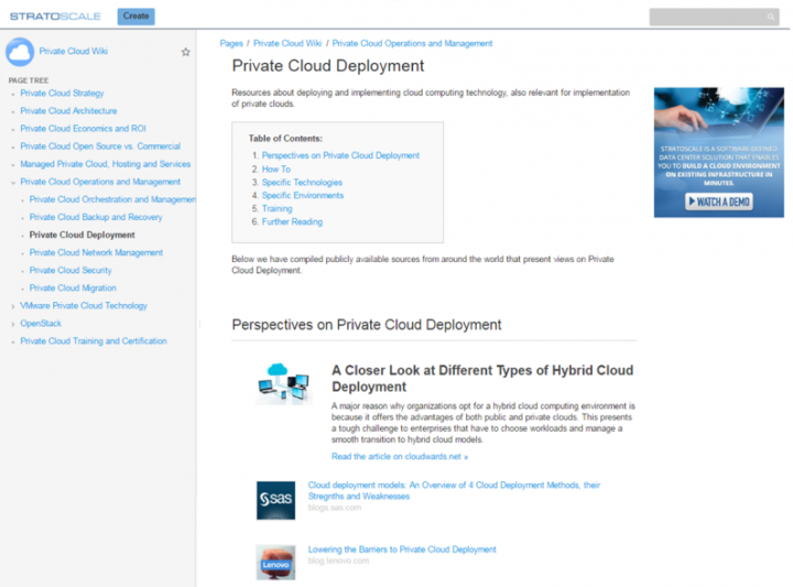 Private Cloud Deployment