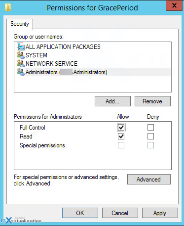 Server 2012 RDS Reset 120 Day Grace Period