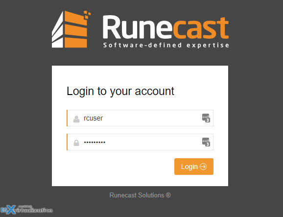 Runecast Analyzer 1.8