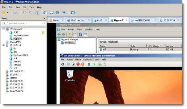 How to install Hyper-V in VMware Workstation   ESX