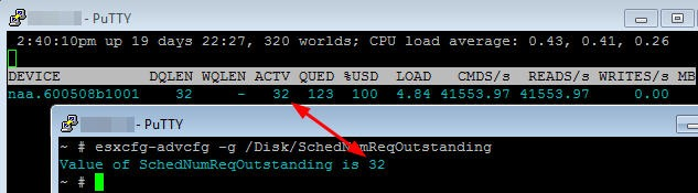 Some Answers About Queues: LUN and HBA Queue Depth on ESX(i