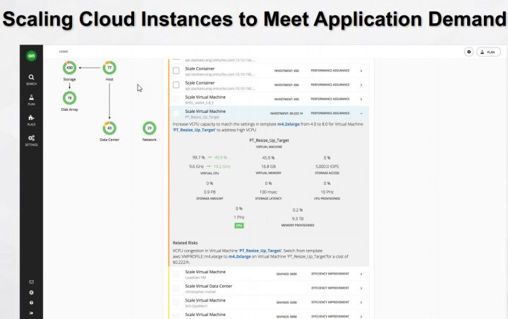 Scaling cloud instances for app demand