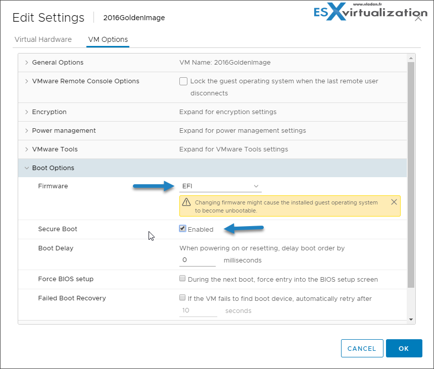 VCP6 7-DCV Objective 2 3 - Describe the options for securing a