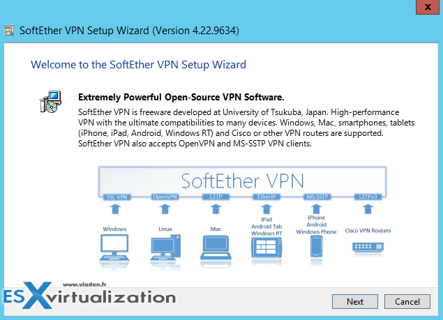 SofthEther VPN Server Installer