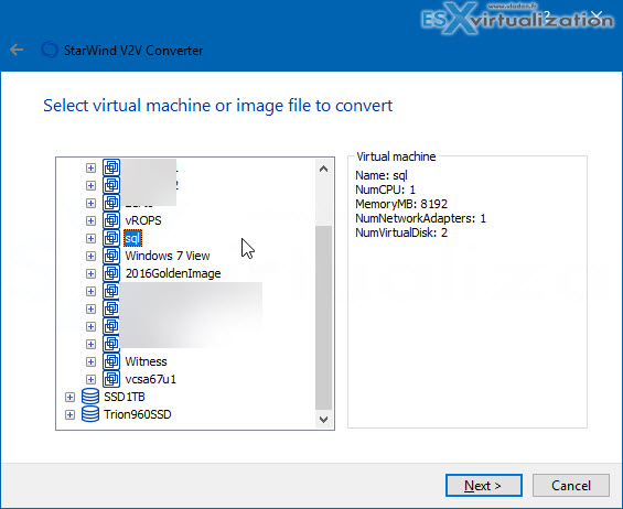 StarWind V2V Converter is Now also P2V | ESX Virtualization
