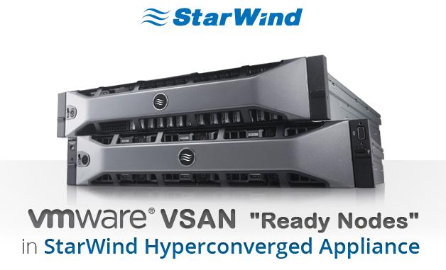 Vmware Vsan Ready Nodes In Starwind Hyperconverged