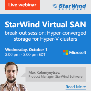 StarWind Virtual SAN breakdown session_FB