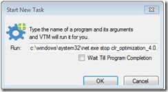 Start Task thumb Using the VMware Guest Console fling in the lab.