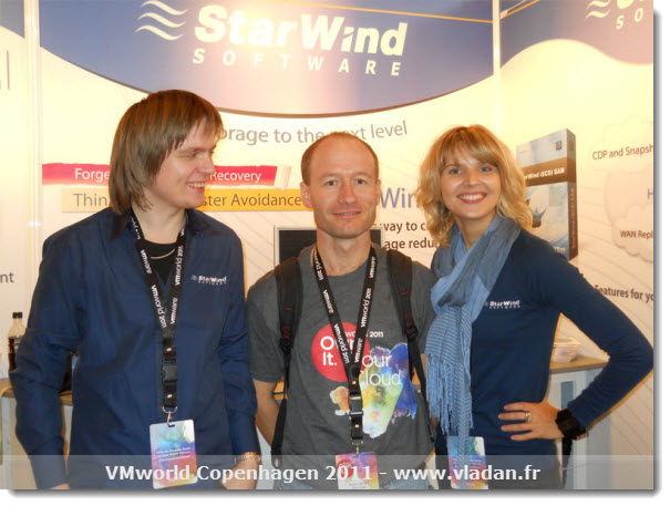 Starwind Software at VMworld Copenhagen 2011