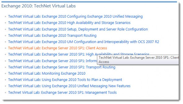 Microsoft Technet Virtual Labs are Free