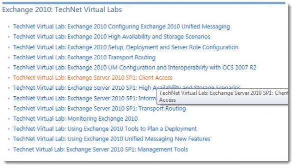 Microsoft Technet Virtual Labs are Free