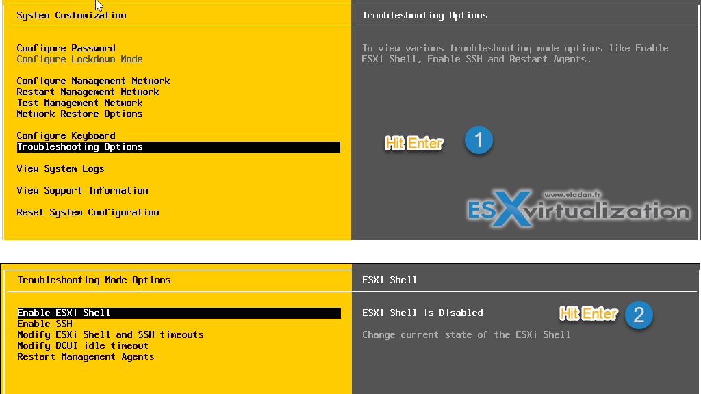 Three Ways to Enable ESXi Shell and Timeout | ESX Virtualization