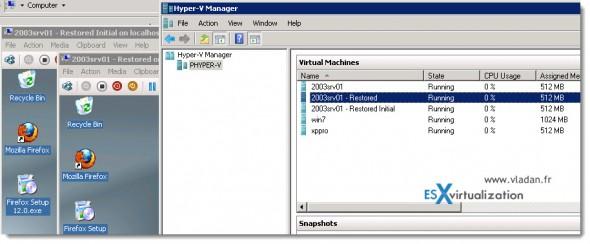 Trilead VM Explorer 4.0 - Full VM restore