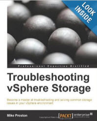 Troubleshooting VMware vSphere Storage