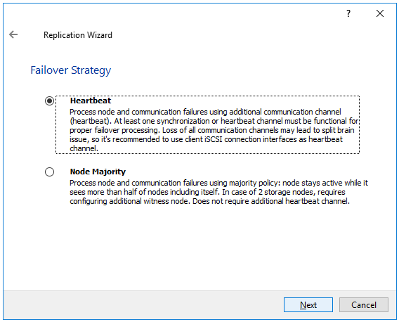 StarWind Virtual SAN Two Different Failover Strategy to chose from
