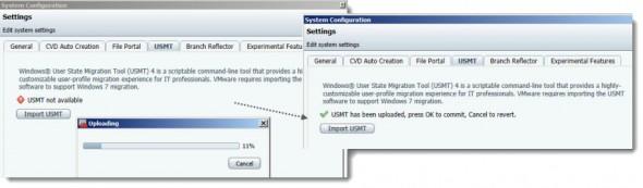 VMware Mirage - Import USMT