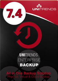 Unitrends Enterprise Backup 7.4