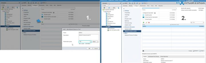 VCP6.5-DCV Network Resoure Pools