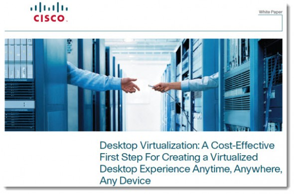 Cisco UCS VDI solutions