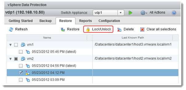 vSphere Data Protection - vSphere 5.1 new backup tool