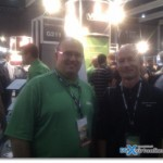 Veeam's Stand - Rick Vanover and Vladan
