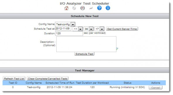 VMware IO Analyzer - Integrated framework for storage performance testing
