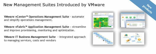 VMware Management suites introduced
