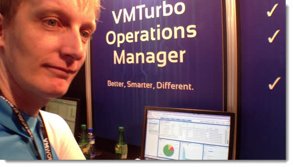 VMturbo VMworld Barcelona   VMturbo Operations Manager Video
