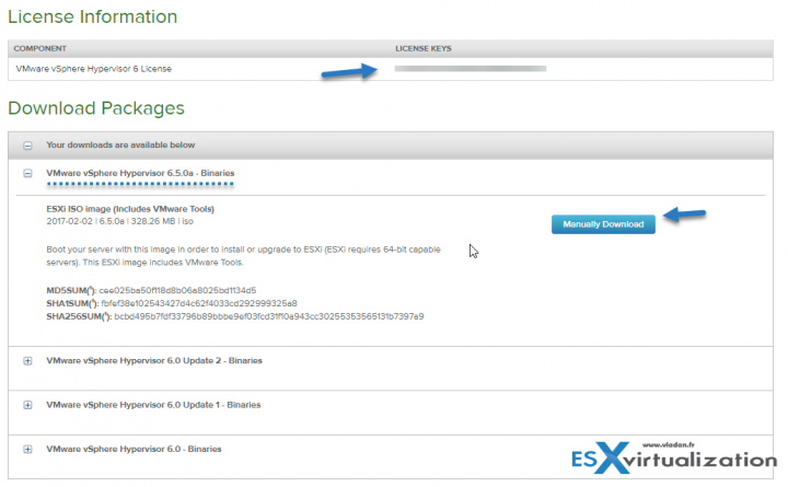 VMware ESXi 6.5 free download