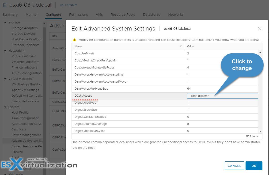 What Is VMware ESXi Lockdown Mode? | ESX Virtualization