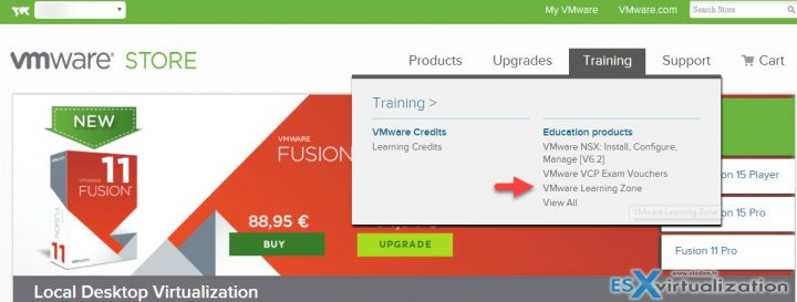 What is VMware Learning Zone? | ESX Virtualization