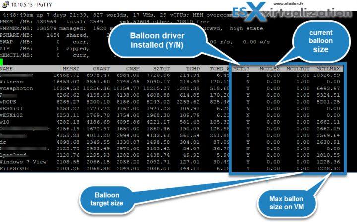 What is VMware Memory Ballooning?   ESX Virtualization
