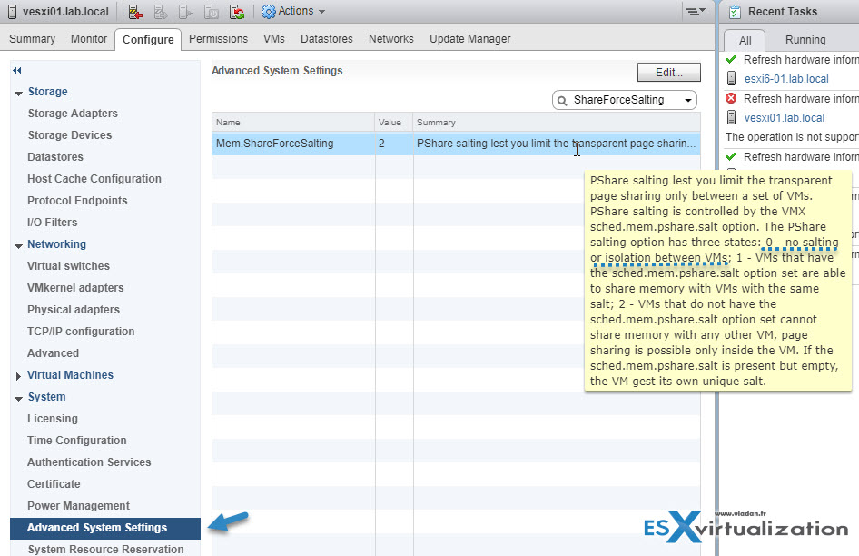 VMware Transparent Page Sharing (TPS) Explained | ESX