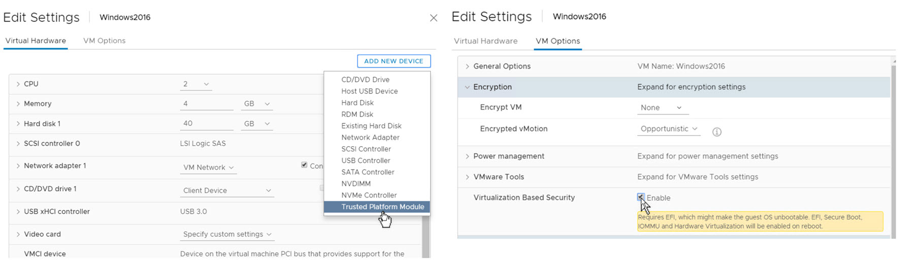 VMware vSphere 6 7 Security Features | ESX Virtualization