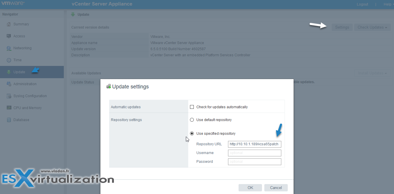 How to patch VMware vCenter Server Appliance (VCSA) from