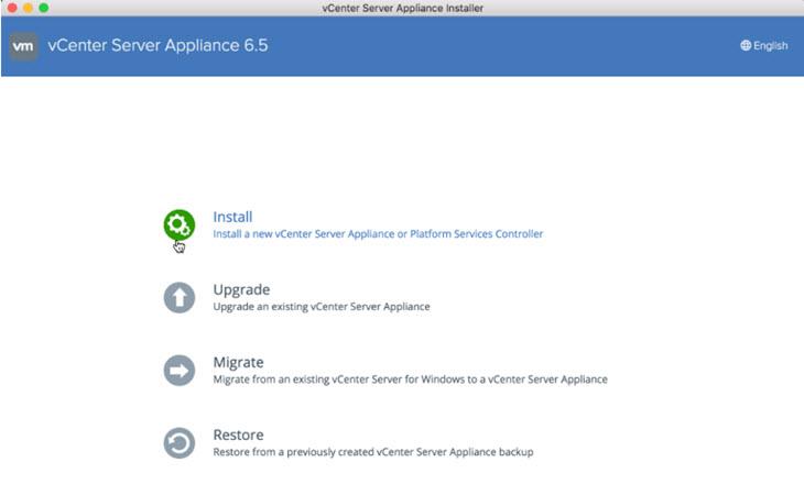 VMware vSphere 6.5 - VCSA 6.5