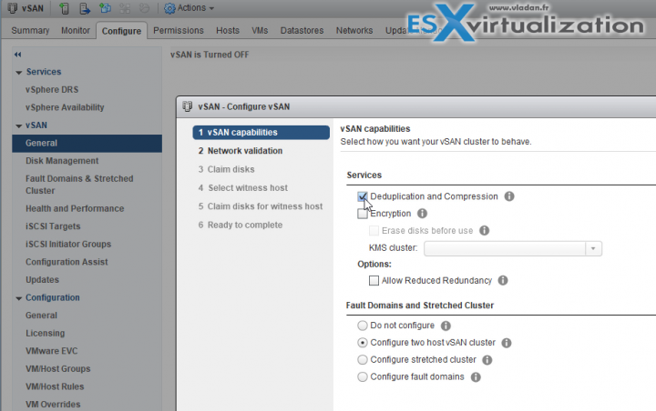 VMware vSAN 6.6 2-Node config