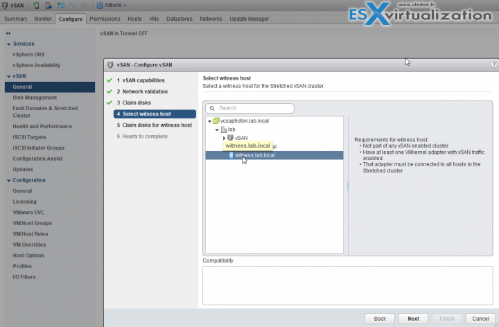 VMware vSAN 6.6 2-Select Witness Node