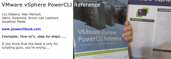 VMware vSphere PowerCLI Reference – My look