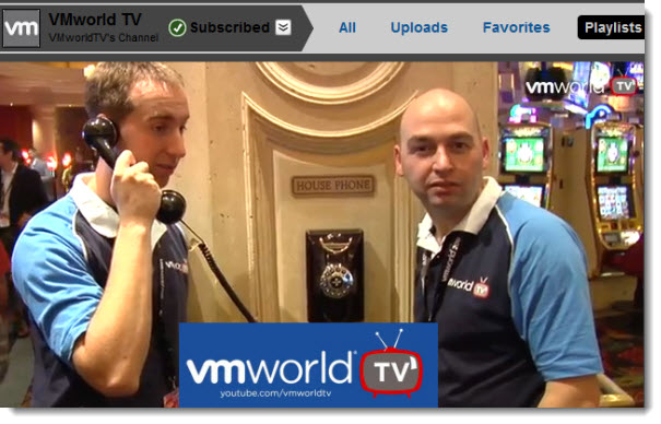 VMworld 2011 Las Vegas videos