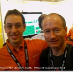 VMworld Copenhagen 2011 - with Alex Rosemblat