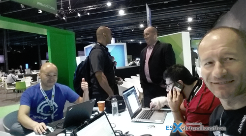 VMworld Barcelona 2016 - Bloggers space