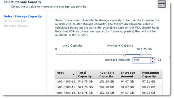 vSphere Storage Appliance - VSA5.1 increasing storage capacity