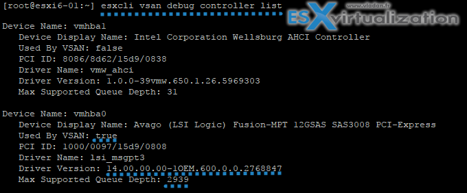 New VSAN CLI commands