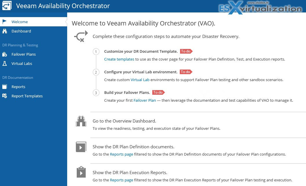 What is Veeam Availability Orchestrator? | ESX Virtualization