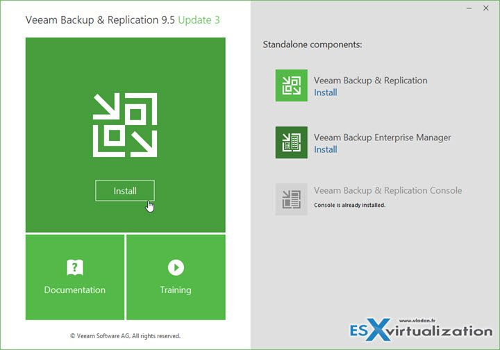Veeam Backup and Replication 9.5 U3