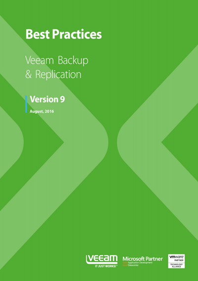 Veeam Backup and Replication Best Practice Book [Free] | ESX