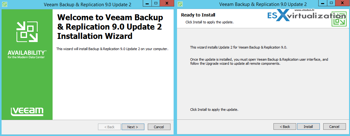 Veeam Backup and Replication 9 U2 Released | ESX Virtualization